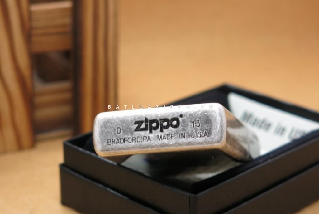 Bật lửa Zippo Chính Hãng bạc khắc chữ  love forever