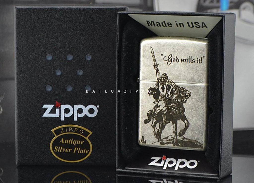 Bật lửa Zippo chính hãng Sovereign Military Malta