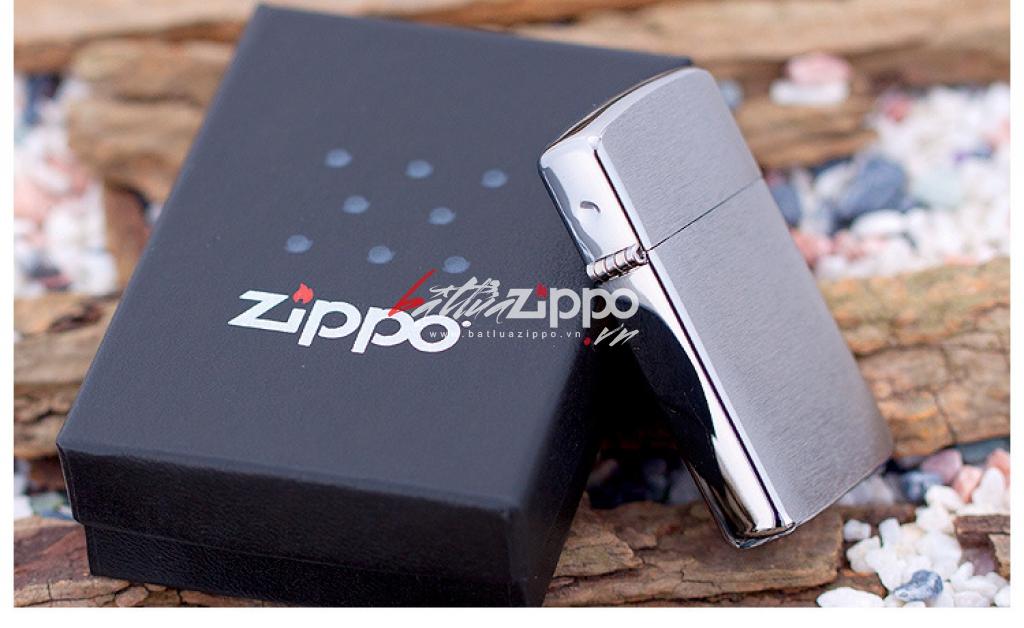 Bật lửa Zippo chính hãng 1600 kiểu dáng đứng