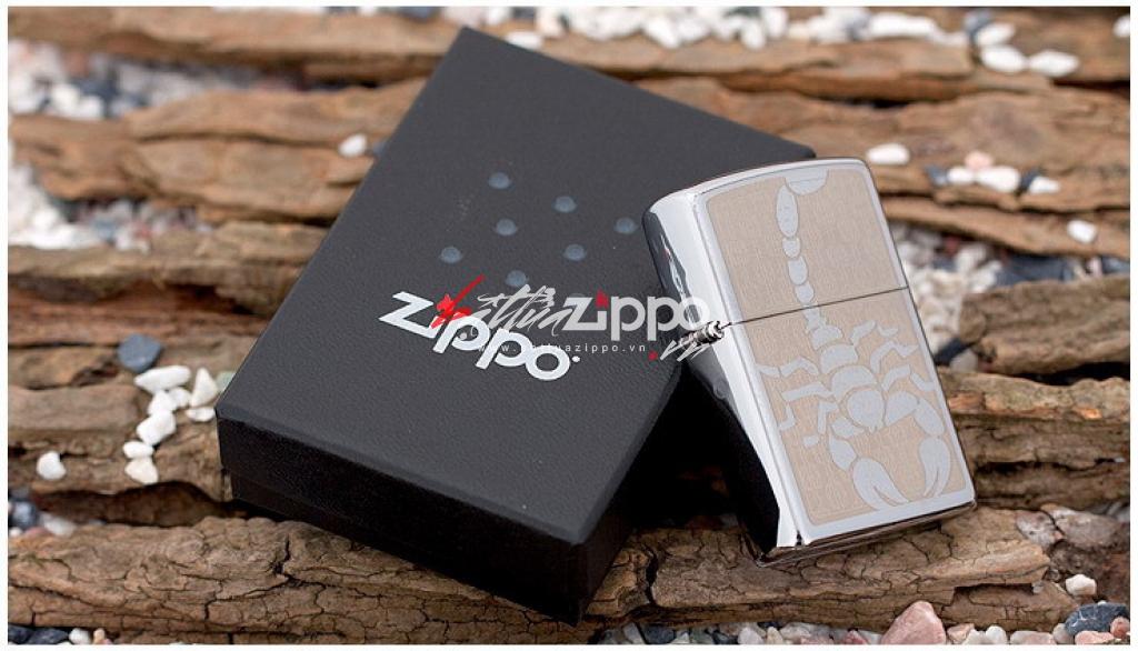 Bật lửa Zippo chính hãng 28053 Bọ Cạp