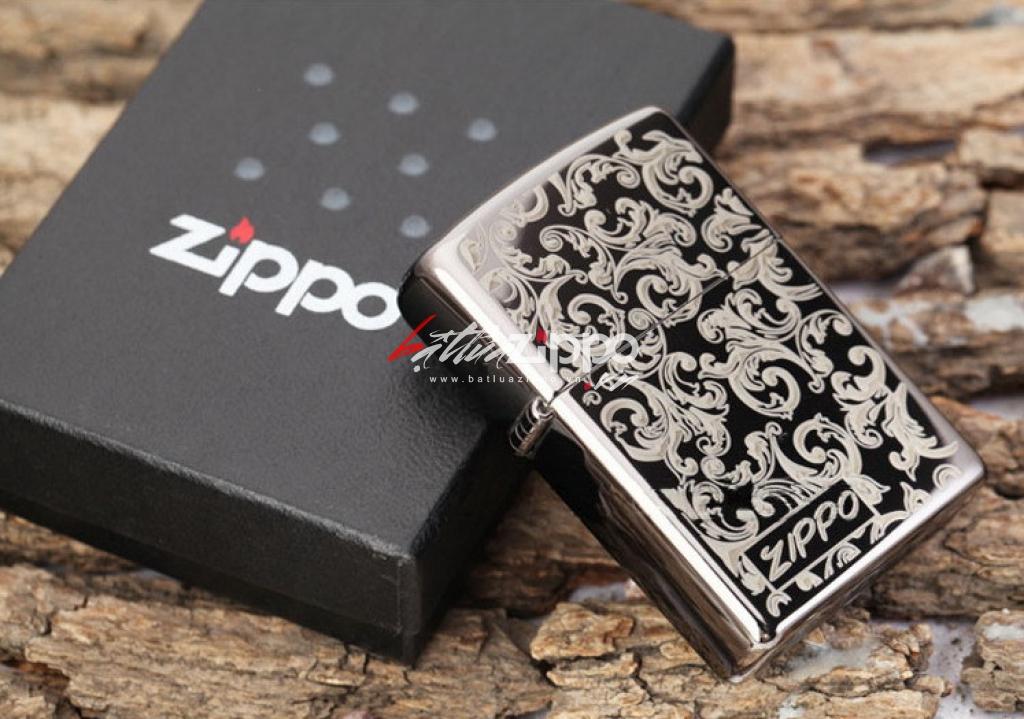 Bật lửa Zippo chính hãng 150 in hoa văn