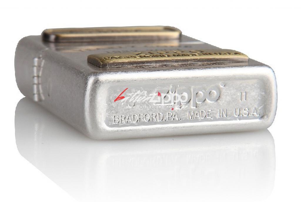 Bật lửa zippo chính hãng ORIGINAL kỷ niệm lần thứ 70 kiểu dáng bạc cổ