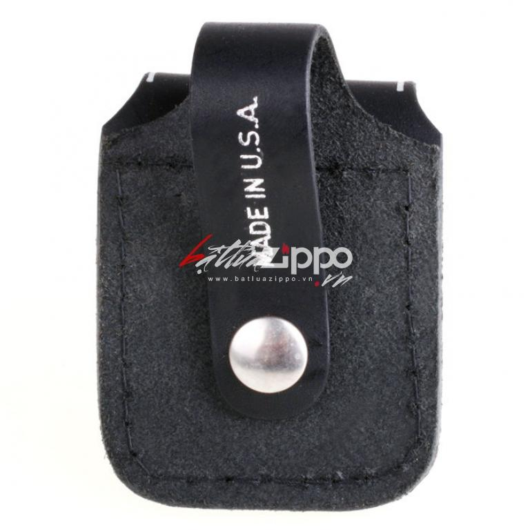 Túi đựng Zippo chất liệu da bò