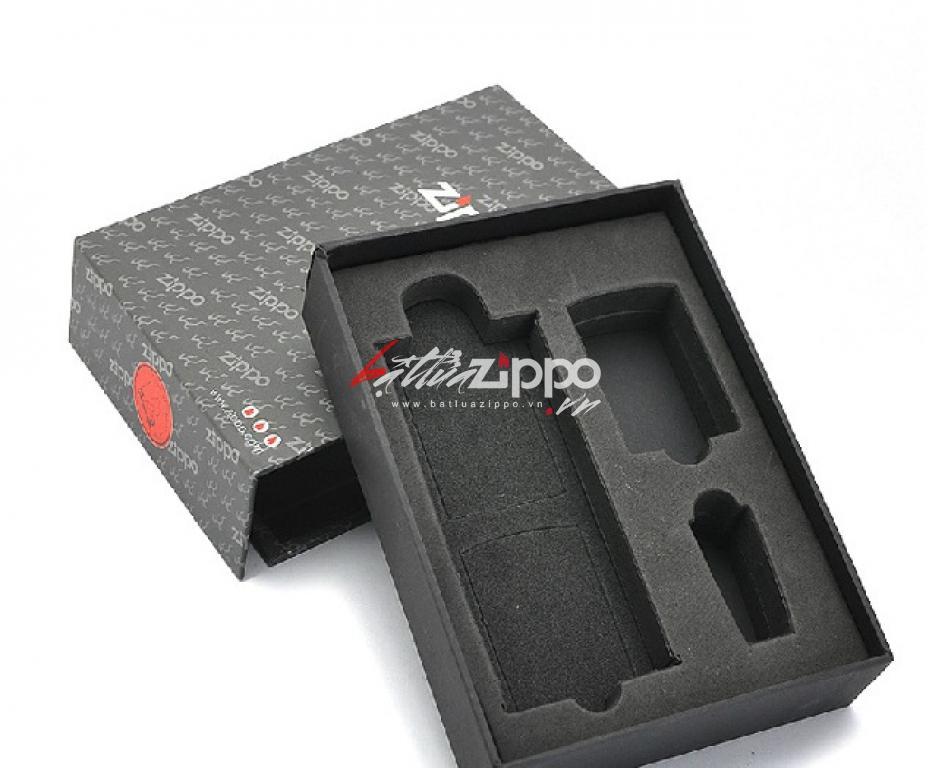 Hộp đựng Zippo (Combo 3 đựng sản phẩm Zippo + Xăng + Đá)