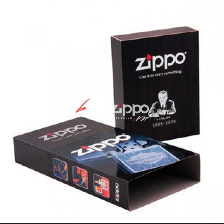 Hộp đựng zippo kiêm phụ kiện