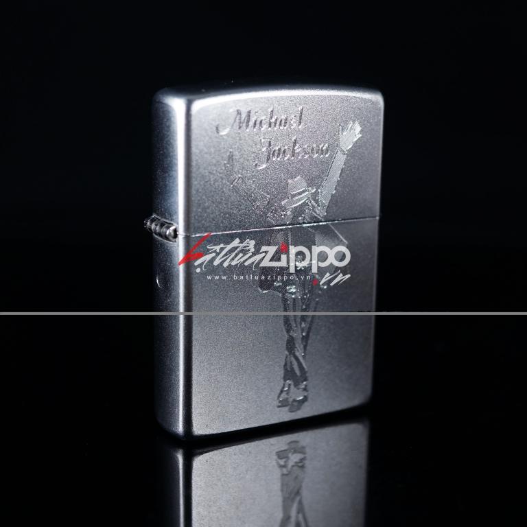 Bật lửa Zippo chính hãng 205 Michael Jackson