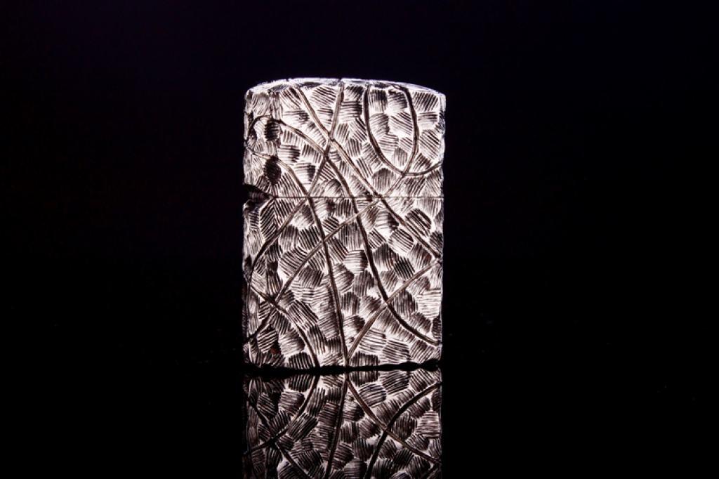 Zippo handmade bạc  tây tạng phiên bản giới hạn limited