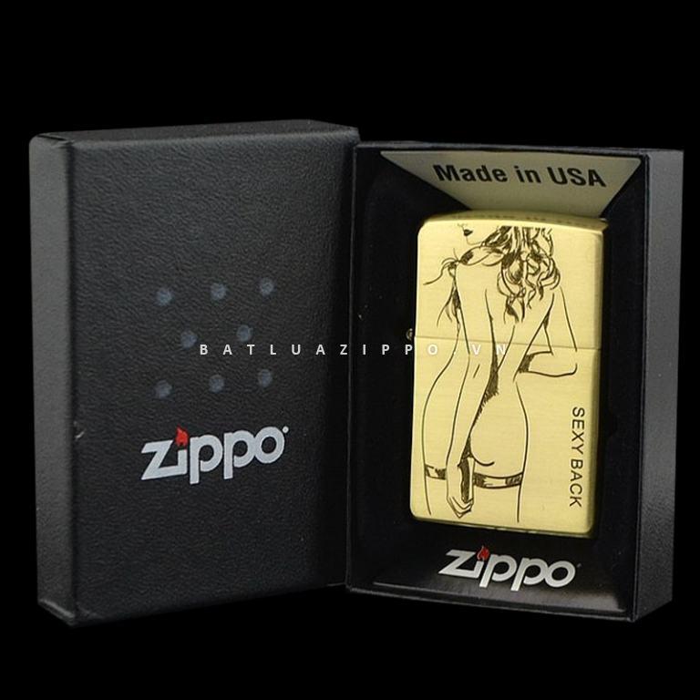 Bật lửa Zippo chính hãng back Sexy American