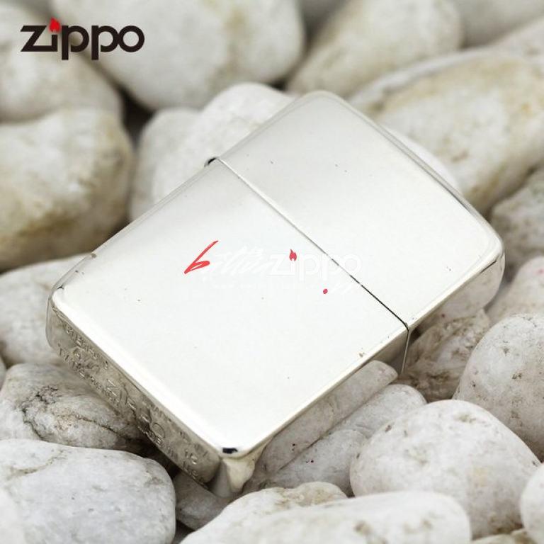 Bật lửa zippo chính hãng bạc trơn nguyên khối  phiên bản 1941