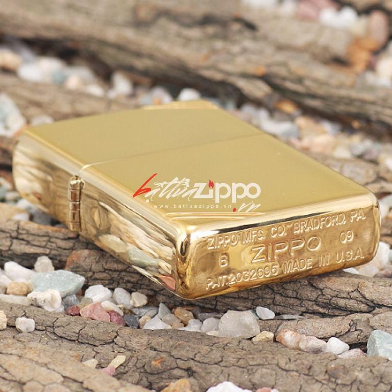 Bật lửa zippo chính hãng gương đồng cổ điển 270