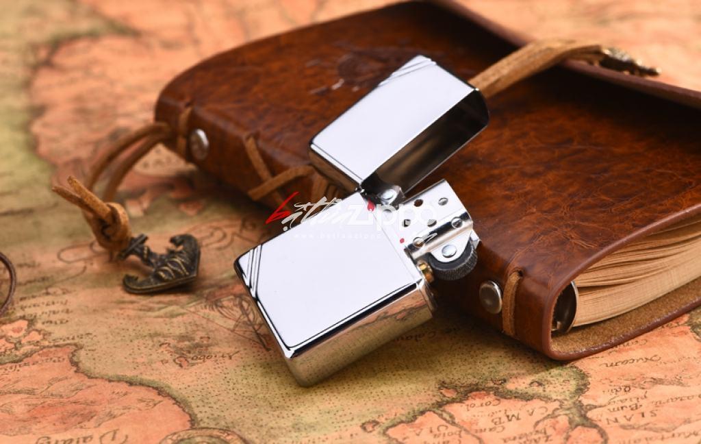 Bật lửa zippo chính hãng phiên bản Cutaway bạc mịn