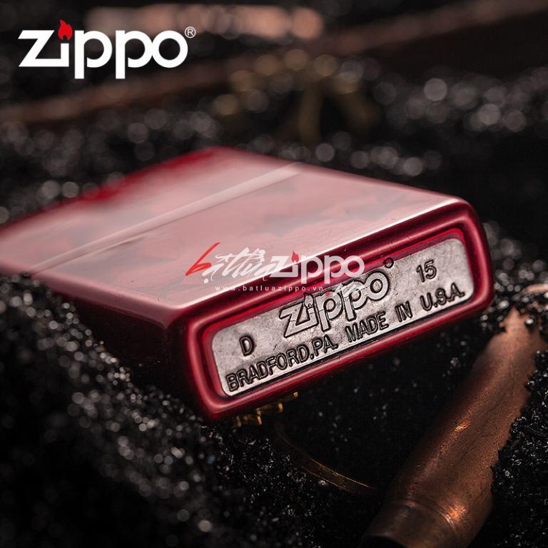 Bật lửa Zippo Classic Iced Stars phiên bản 2010