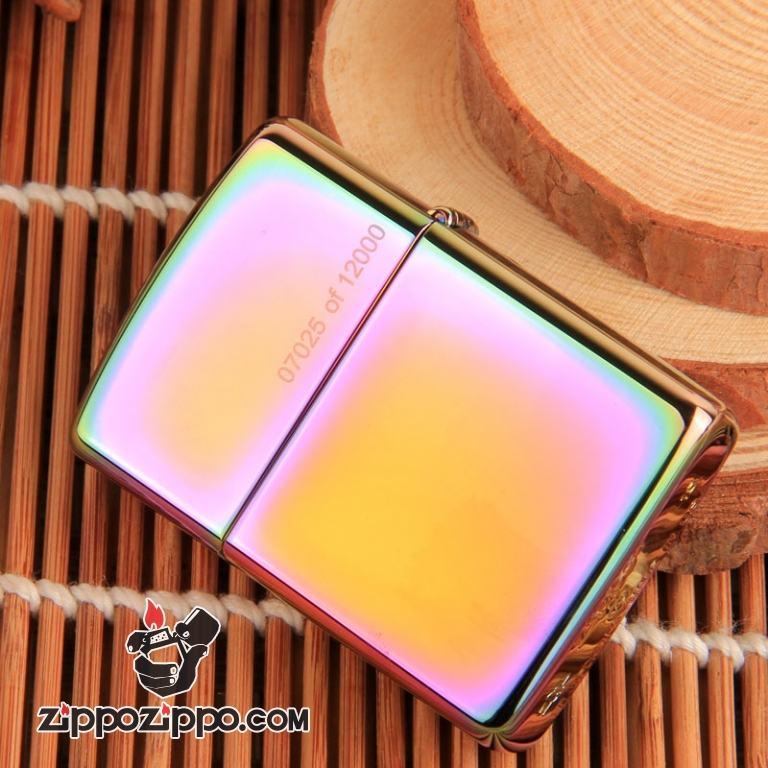 Bật lửa ZIppo bảng màu xoáy phiên bản giới hạn