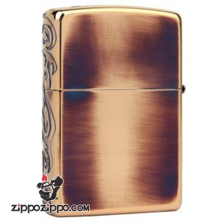 Bật lửa Zippo Đồng Dragon Flame