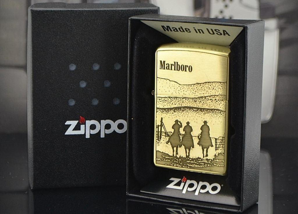 Bật lửa Zippo phiên bản Marlboro hình cao bồi