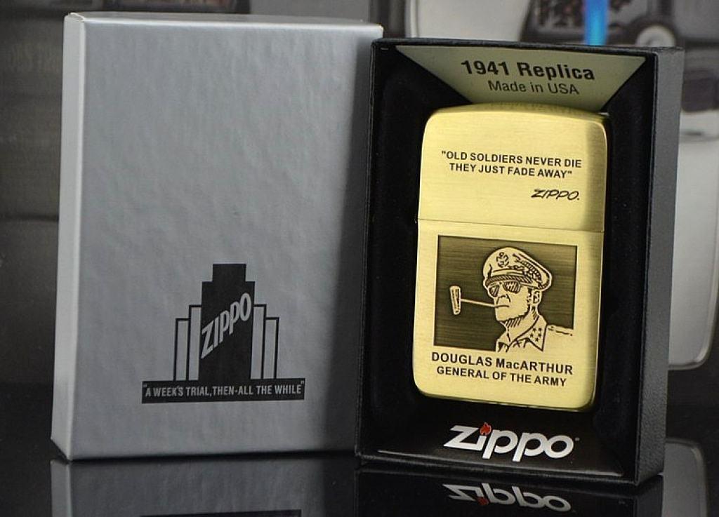 Bật lửa Zippo phiên bản Thế chiến II 1941 MacArthur