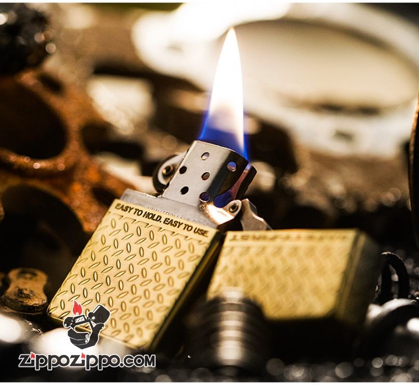 Bật lửa Zippo phiên bản Halley đồng cổ