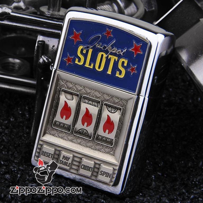 Bật lửa Zippo phiên bản Châu Âu Jackpot Slots