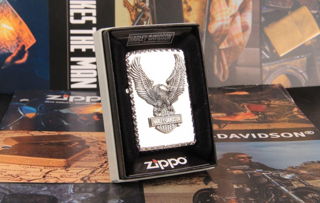 Bật Lửa Zippo Chính Hãng Phiên Bản Bac Harley Davidson