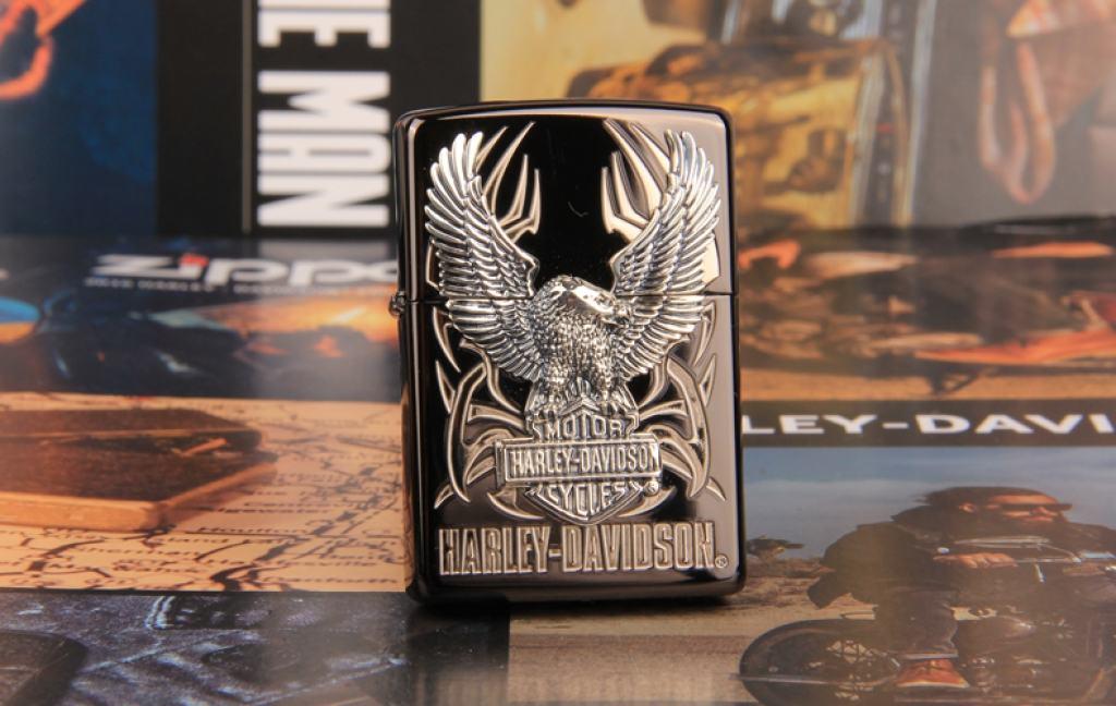 Zippo Chính Hãng Huy Hiệu Harley Davidson