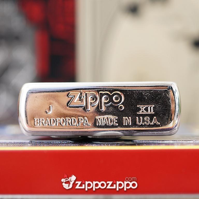 Zippo Cổ Limited Edition Màu Bạc Sản Xuất Năm 1996