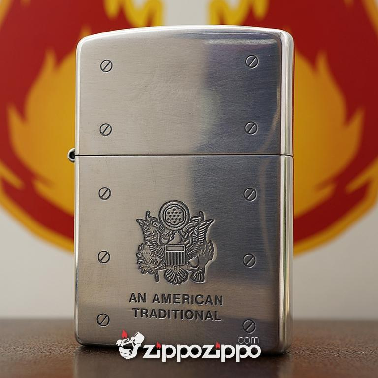 Set Zippo An American Traditional - 2003