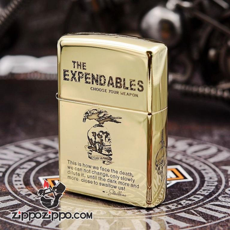 Bật lửa Zippo chính hãng khắc The Expendables ARMOR