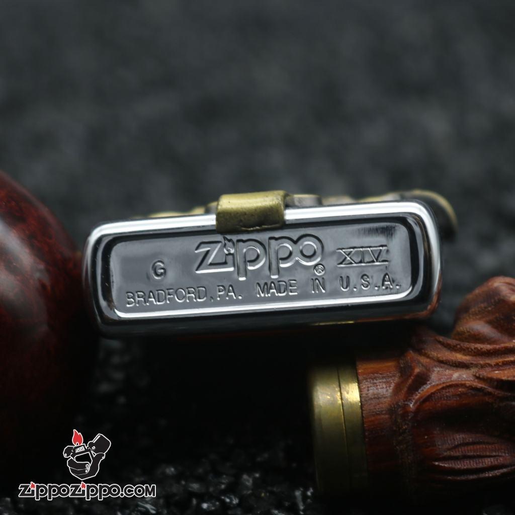 Zippo cổ harley davidsion đai lưng nổi XIV (1998)
