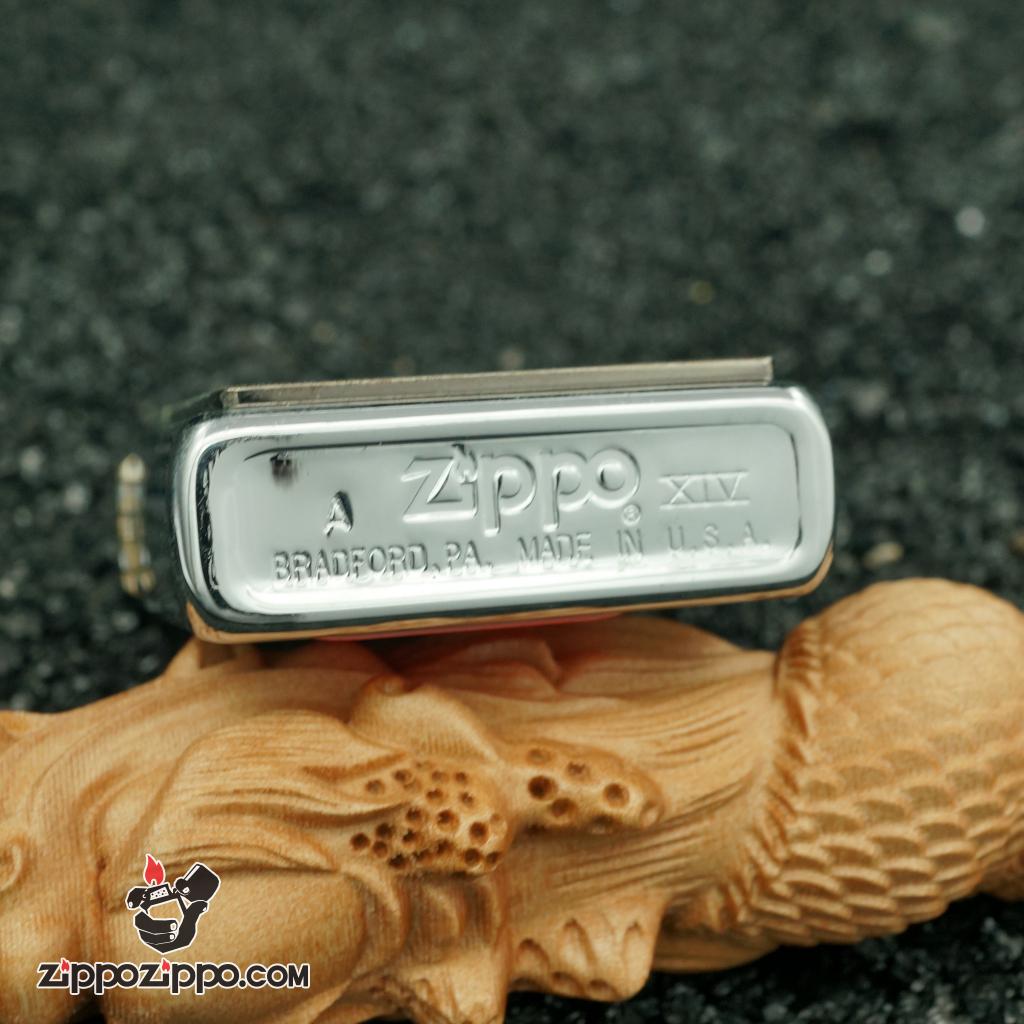 Zippo cổ bộ ký tự thổ dân - mũi tên 1998