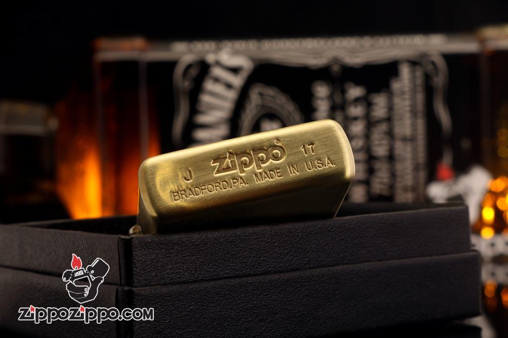 Bật lửa Zippo chính hãng đồng khắc bùa âm dương ngũ hành