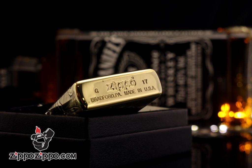 Zippo Chính Hãng Đồng Khắc 12 Con Giáp Tuổi Mùi