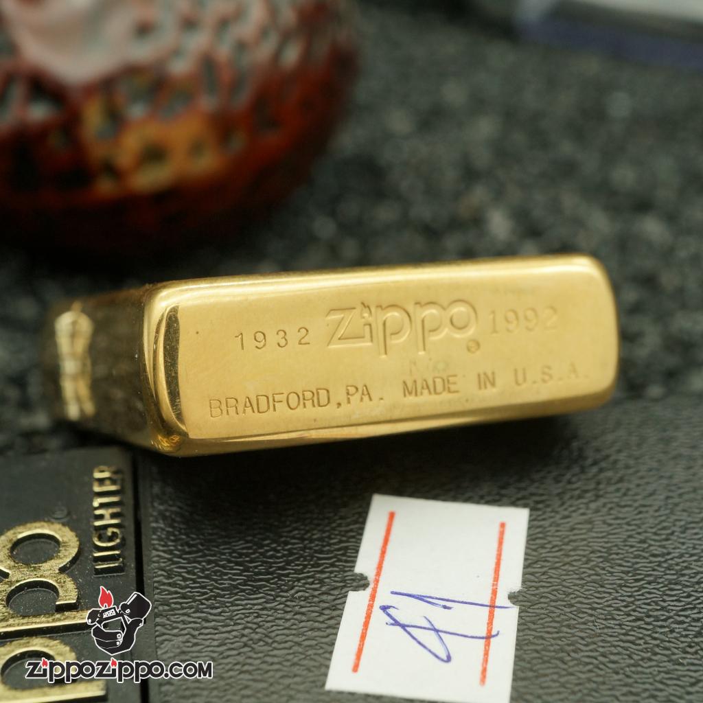 Zippo cổ chu niên sản xuất năm 1992