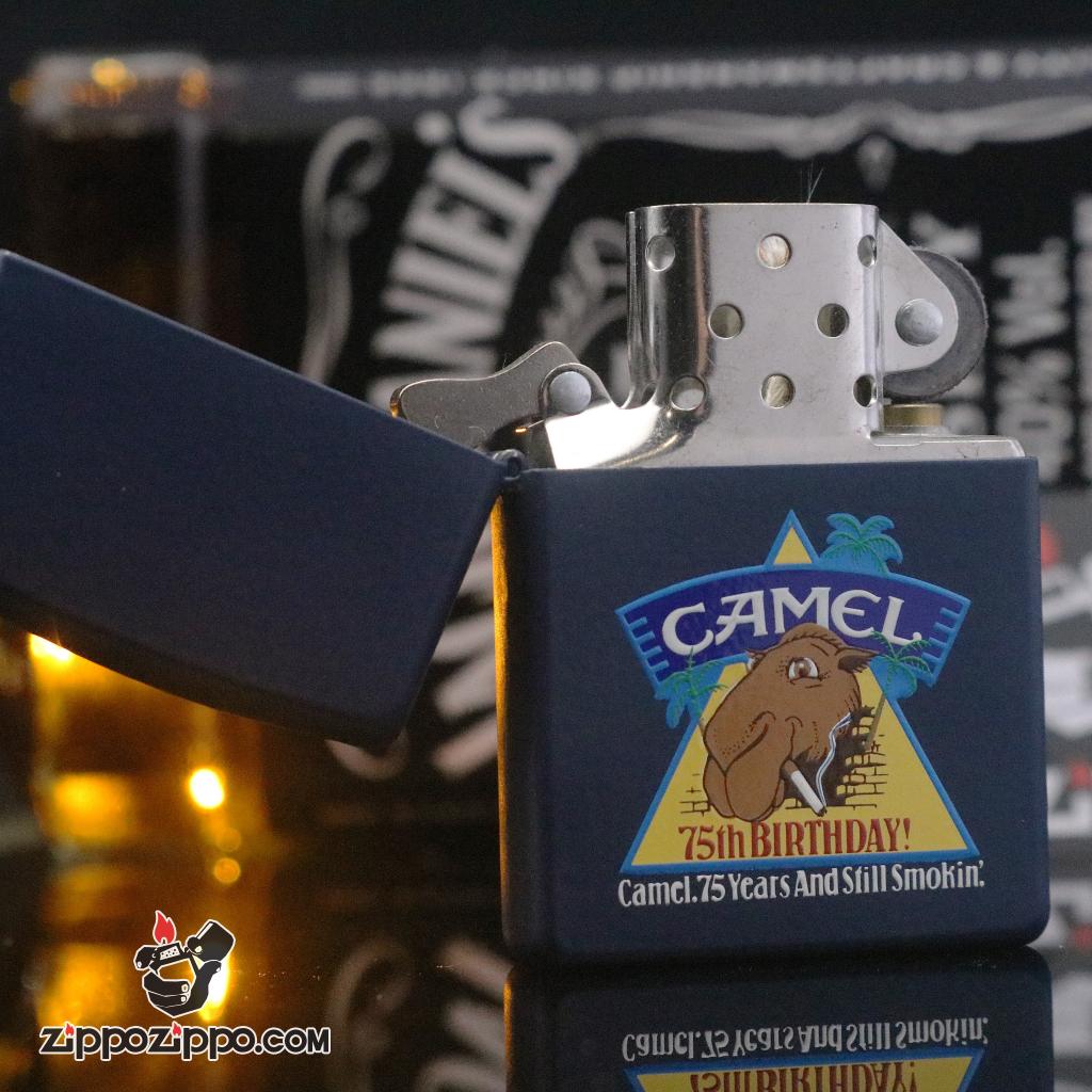 Zippo đời la mã 1997 Matte CAMEL