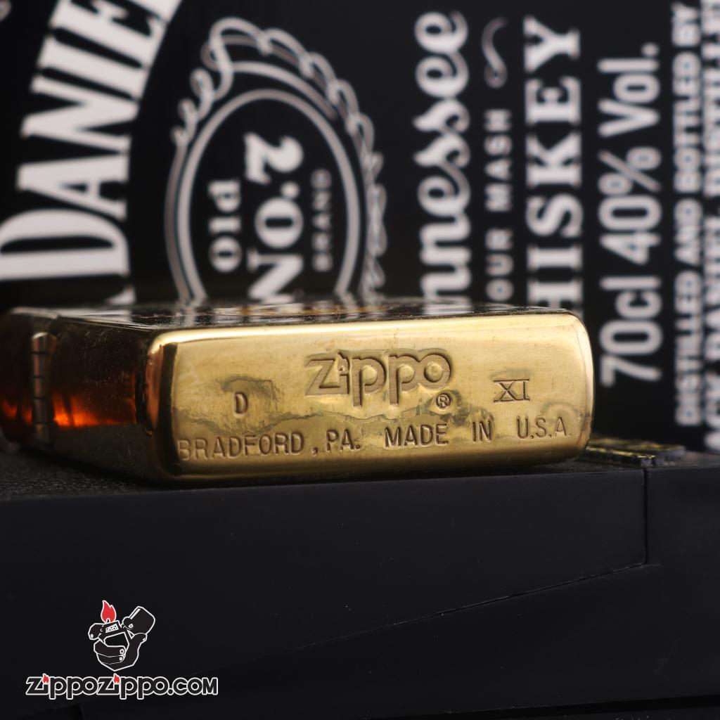 Zippo đời la mã sản xuất 1995 hard Rock Cafe