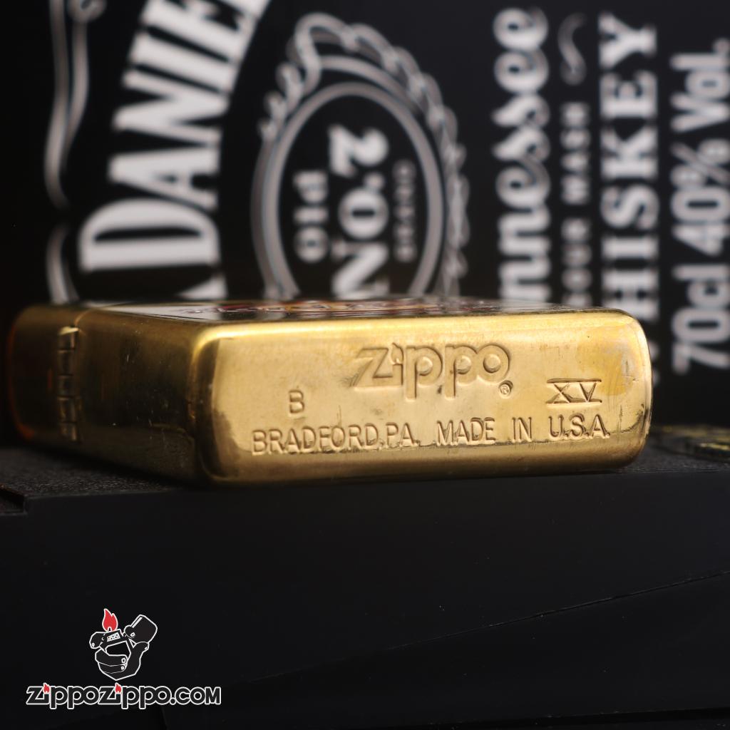 Zippo đời la mã sản xuất 1999 hard Rock Cafe