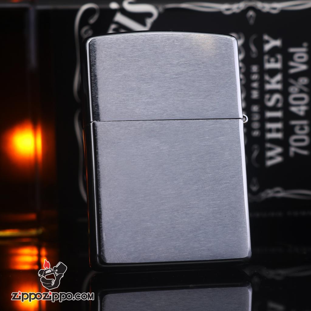 Zippo đời la mã sản xuất 1998 bạc xước