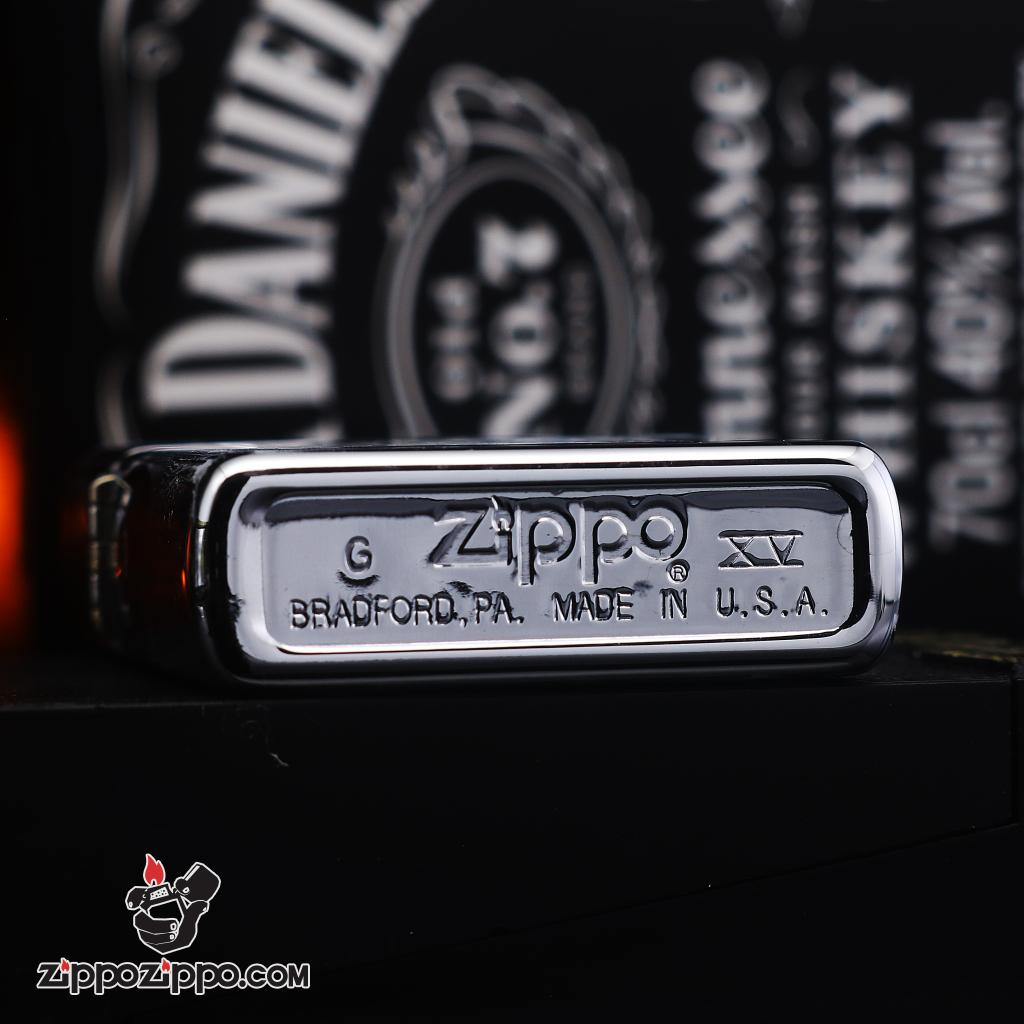 Zippo đời la mã sản xuất 1999 hình quân bài