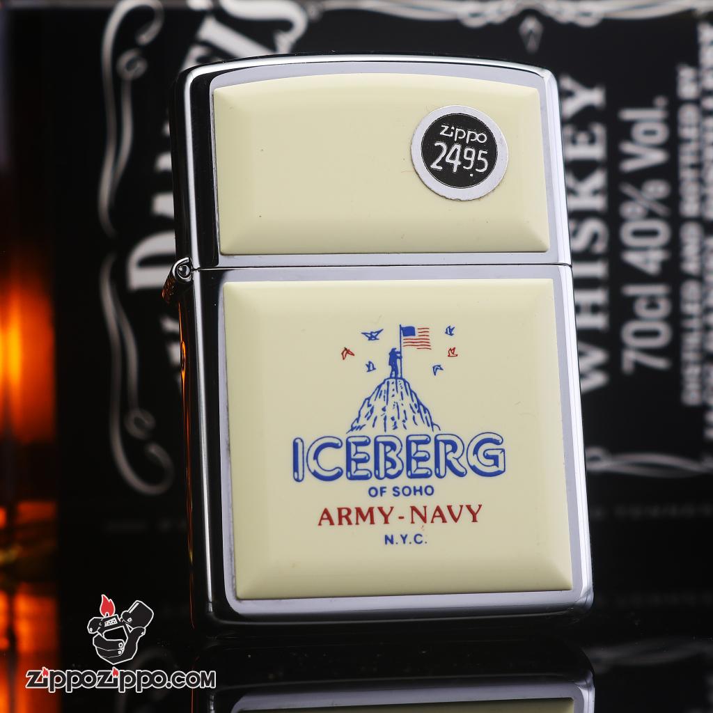 Zippo đời la mã sản xuất năm 1992 Iceberg Of Soho