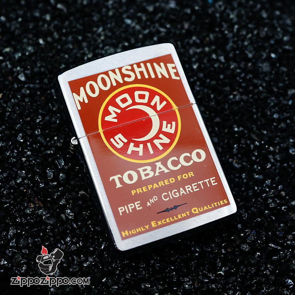 Zippo đời la mã sản xuất 1999 MOONSHINE TOBACCO