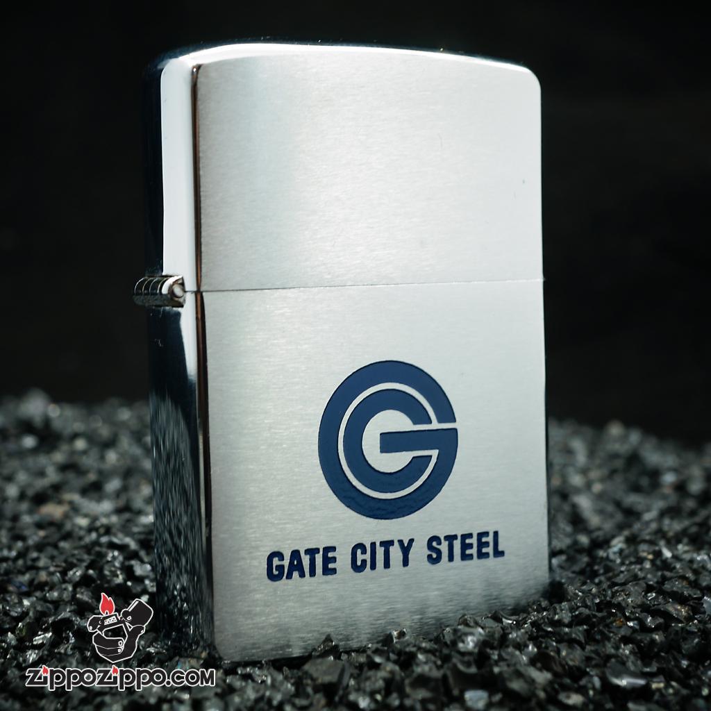 Zippo cổ sản xuất 1965 GATE CITY STEEL