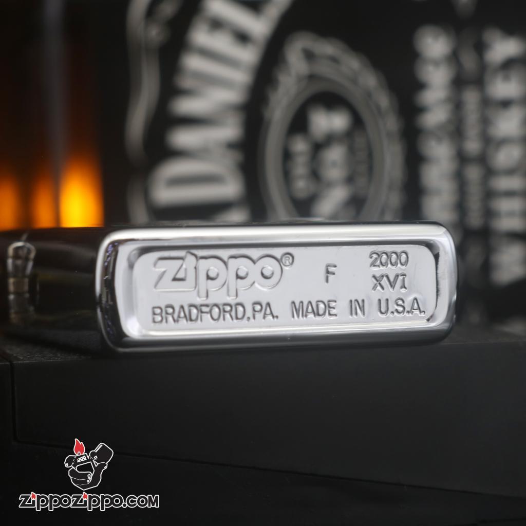 Zippo đời la mã sản xuất 2000 hình hươu sao