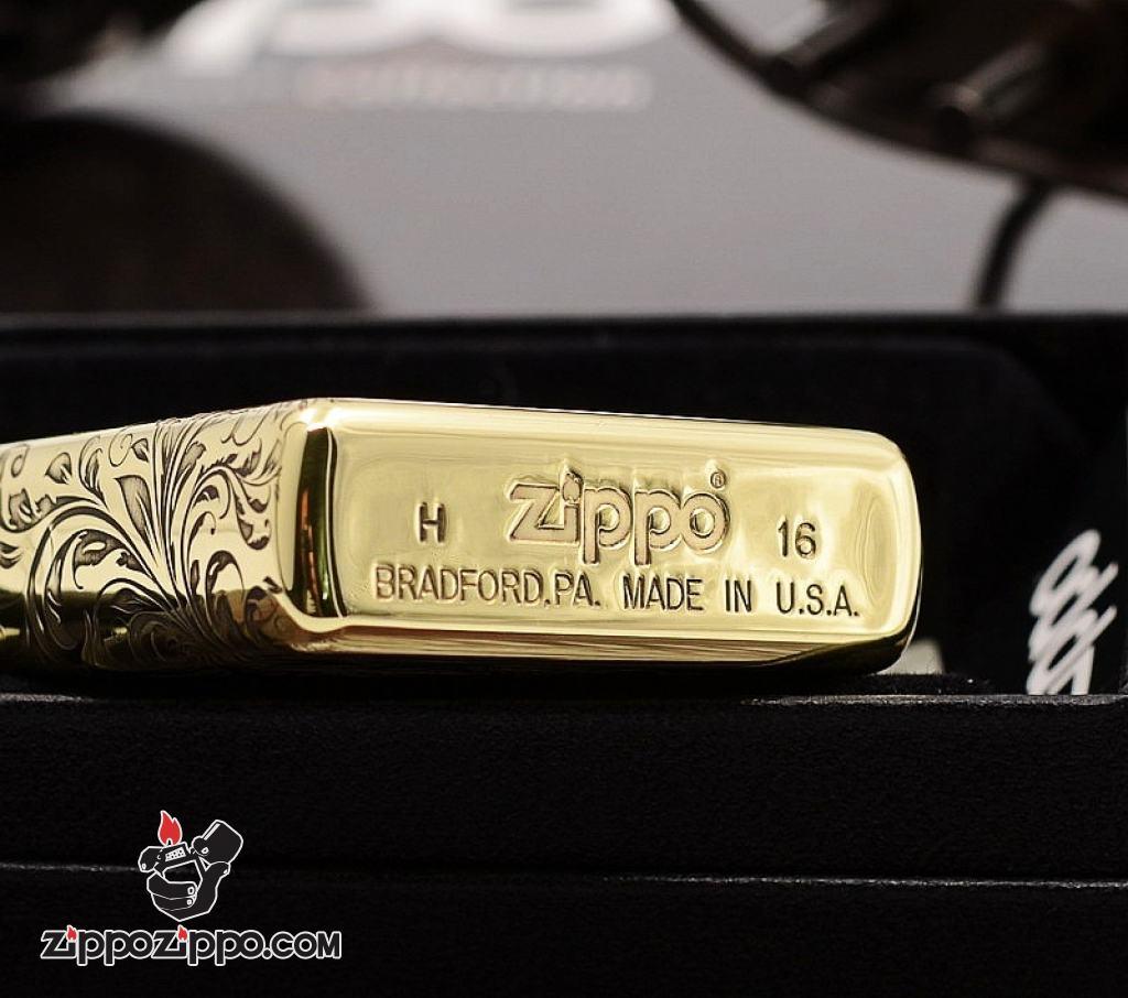 Bật Lửa Zippo Đồng Khắc Hình Tiên Nữ Bản Armor