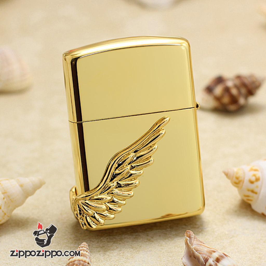 Bật lửa Zippo chính hãng phiên bản giới hạn Hàn Quốc cánh thiên thần