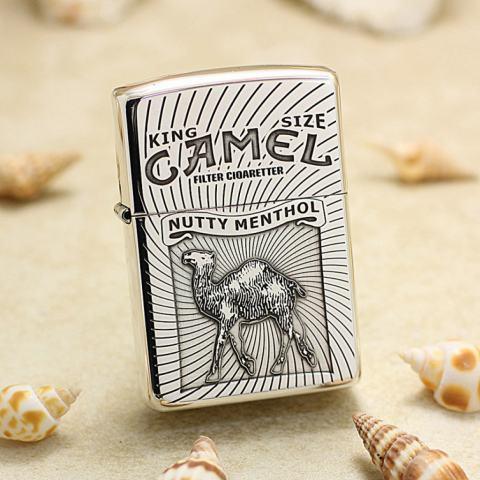 Bạc Nguyên Khối Cao Cấp Khắc King Size Camel Bản Vỏ Mỏng