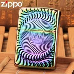 Bật lửa ZIppo bảng màu xoáy phiên bản giới hạn - Mã SP: ZPC0376