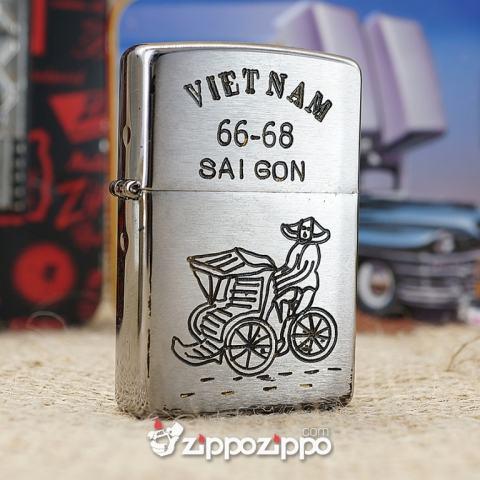 Bật lửa zippo chiến tranh việt nam sản xuất 2017( Sài Gòn