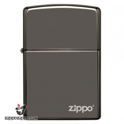 Bật lửa Zippo chính hãng 150ZL màu đen bóng