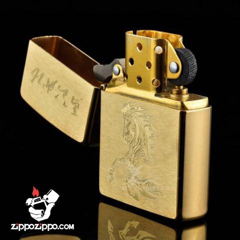 Bật lửa Zippo chính hãng 204B khắc mã đáo thành công
