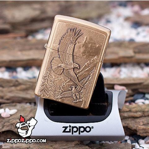 Bật lửa Zippo chính hãng 20854 khắc đại bàng săn mồi