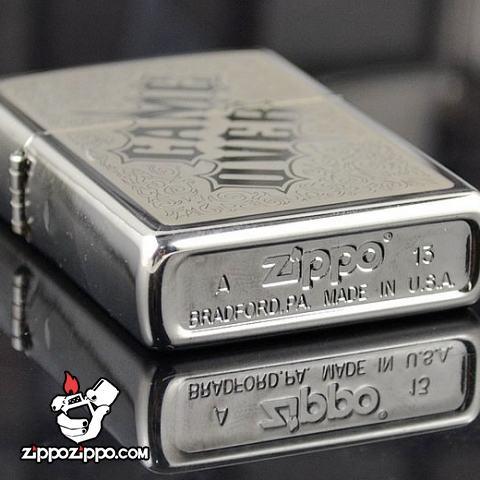 Bật lửa Zippo chính hãng 28447 GAME OVER